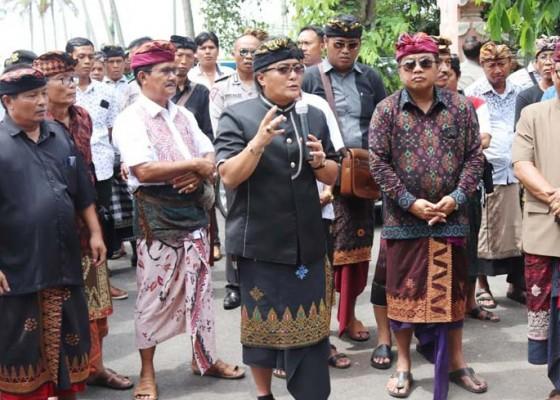 Nusabali.com - bupati-badung-selesaikan-polemik-tapal-batas-wilayah-desa-adat