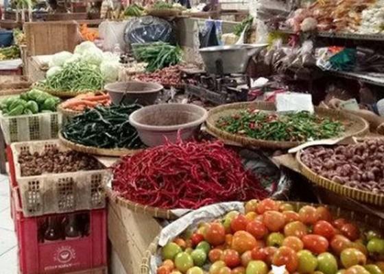Nusabali.com - pasokan-menipis-harga-komoditas-bumbu-dapur-melonjak-di-jembrana
