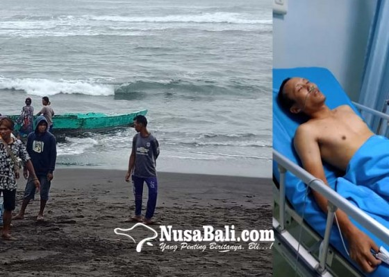 Nusabali.com - perahu-terbalik-1-selamat-1-hilang