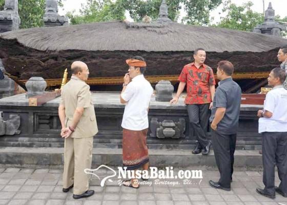 Nusabali.com - pimpinan-dewan-dan-wakil-bupati-sarankan-perbaikan-pakai-beton