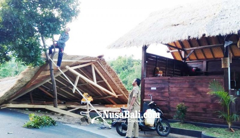www.nusabali.com-badai-hantam-proyek-artshop-bumdes-baliaga
