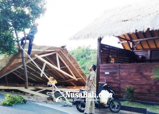 Nusabali.com - badai-hantam-proyek-artshop-bumdes-baliaga