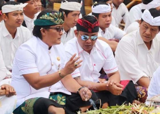 Nusabali.com - bupati-giri-prasta-ajak-krama-utamakan-persatuan
