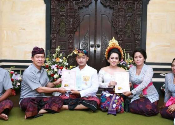 Nusabali.com - anak-bupati-suwirta-laksanakan-perkawinan