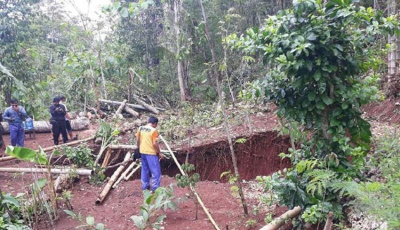 www.nusabali.com-muncul-rekahan-tanah-16-meter-di-gunungkidul