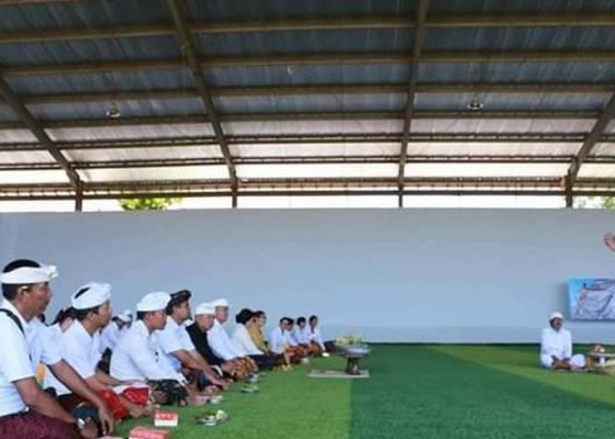 Nusabali.com - desa-lembongan-miliki-gedung-futsal