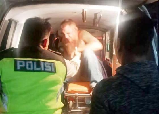 Nusabali.com - bule-penabrak-pemotor-tidak-ditahan