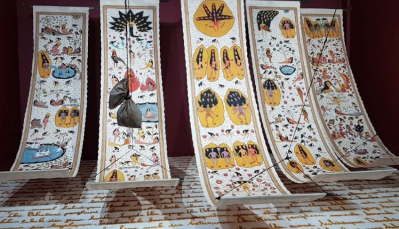 www.nusabali.com-citra-sasmita-pameran-tunggal-ode-to-the-sun-di-singapura