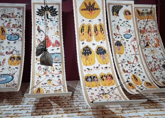 Nusabali.com - citra-sasmita-pameran-tunggal-ode-to-the-sun-di-singapura