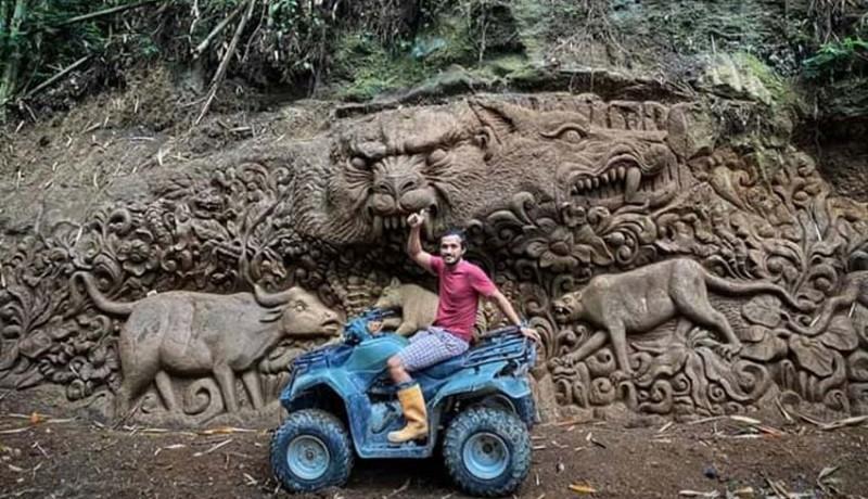 www.nusabali.com-bikin-relief-mayadanawa-sepanjang-150-meter-di-sekitar-das-pakerisan