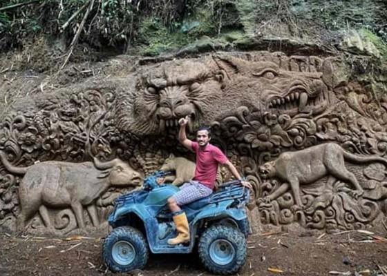 Nusabali.com - bikin-relief-mayadanawa-sepanjang-150-meter-di-sekitar-das-pakerisan