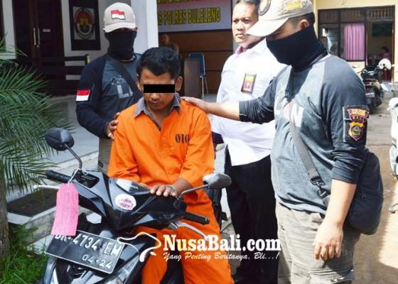 Nusabali.com - bapak-curi-motor-buat-antar-anak-sekolah