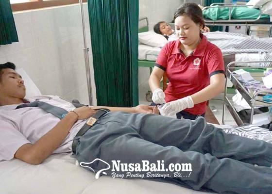 Nusabali.com - tensi-rendah-banyak-siswa-gagal-jadi-pendonor