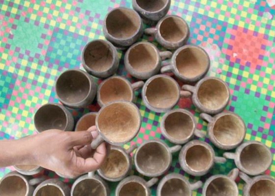 Nusabali.com - kerajinan-tempurung-kelapa