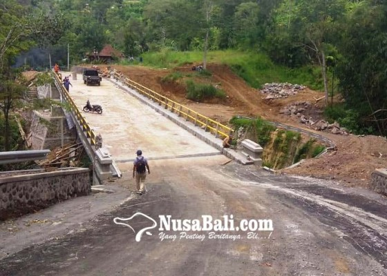 Nusabali.com - paket-jembatan-dan-jalan-senilai-rp-12-miliar-molor