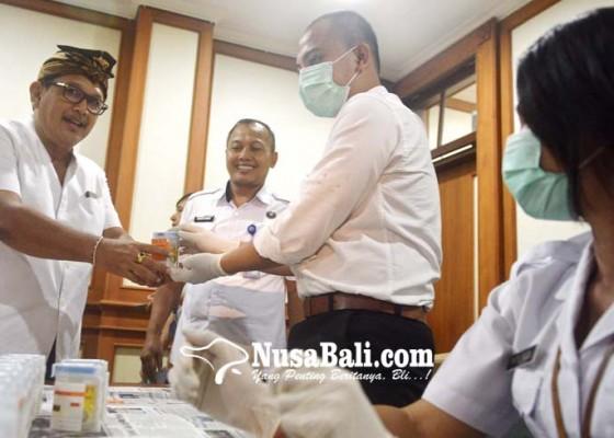 Nusabali.com - anggota-dprd-denpasar-dites-urine
