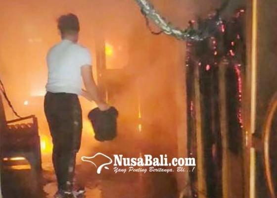 Nusabali.com - lab-bimbingan-konseling-fip-undiksha-terbakar