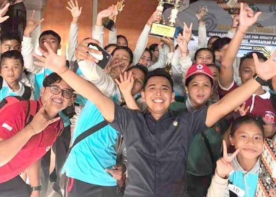 Nusabali.com - smpn-3-rendang-juara-ept-pmr