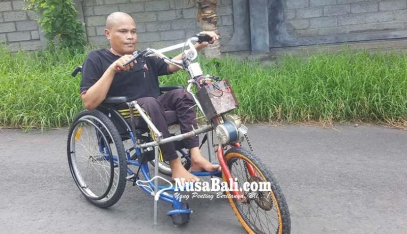 www.nusabali.com-berhasil-bikin-modifikasi-kursi-roda-bertenaga-listrik