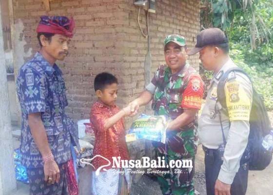 Nusabali.com - anak-yatim-dibantu-sembako