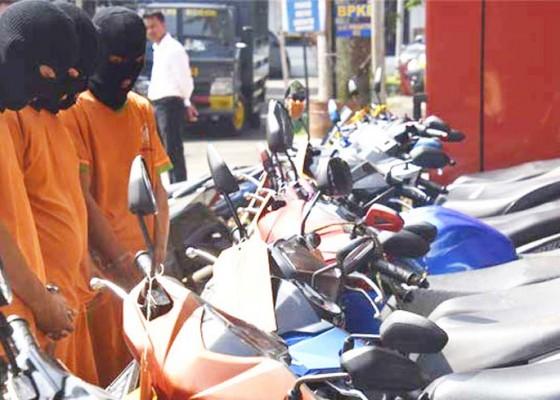 Nusabali.com - sindikat-pencuri-motor-bersenpi-dibekuk
