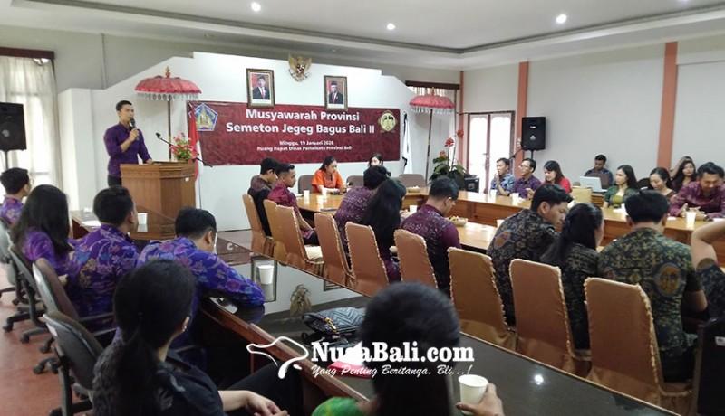 www.nusabali.com-made-hariyoga-jadi-ketua-umum-jegeg-bagus-bali