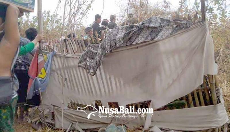www.nusabali.com-pantang-dikubur-jenazah-jro-putus-hanya-dikurung-ancak-saji
