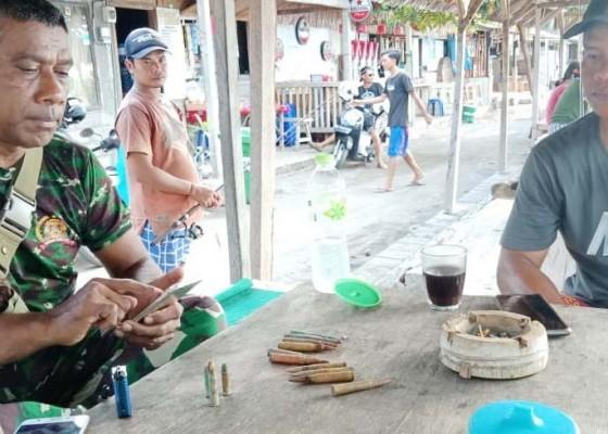 Nusabali.com - pengawas-pantai-temukan-13-peluru-aktif-di-penimbangan