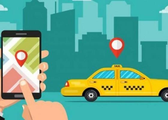 Nusabali.com - aplikasi-taksi-online-bandara-diluncurkan
