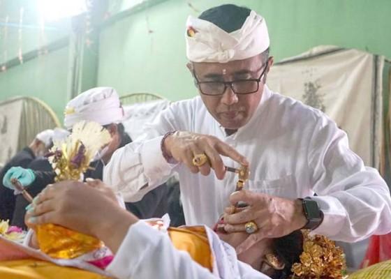 Nusabali.com - jaya-negara-nyanggingin-serangkaian-karya-di-banjar-pekambingan