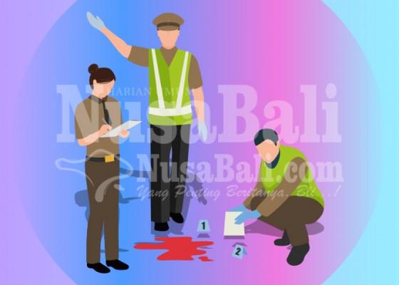 Nusabali.com - sopir-ngantuk-tabrak-pemotor-satu-tewas