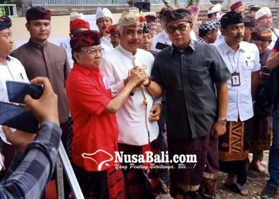 Nusabali.com - majelis-desa-adat-digelontor-gedung-rp-98-miliar