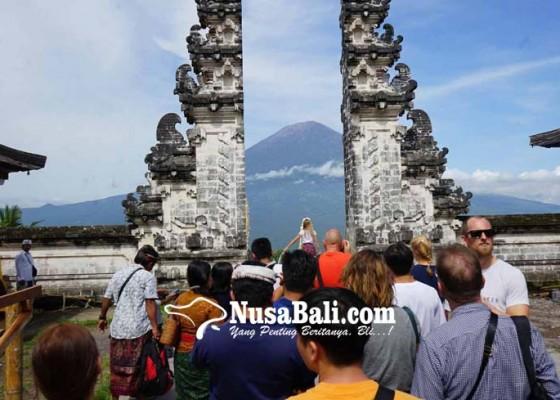 Nusabali.com - pura-lempuyang-tutup-sementara-untuk-wisatawan