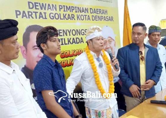 Nusabali.com - saingi-ngurah-agung-manik-danendra-daftarkan-pencalonan-di-golkar