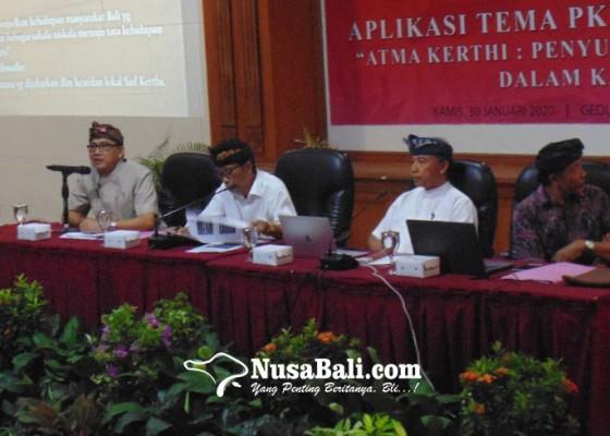 Nusabali.com - pesta-kesenian-bali-2020-usung-tema-atma-kerthi