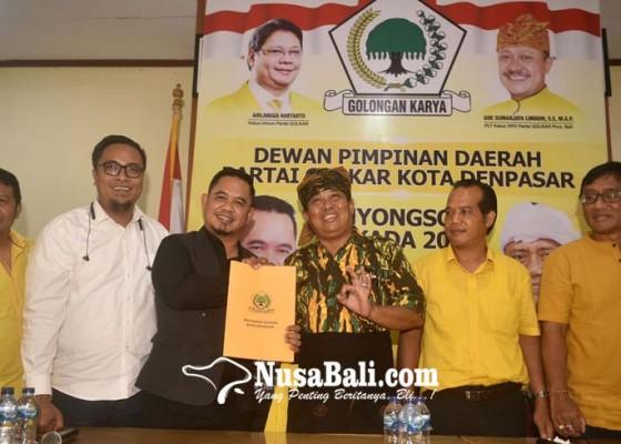 Nusabali.com - ngurah-agung-tegaskan-maju-menjadi-cawali-buat-angkat-harga-diri-golkar