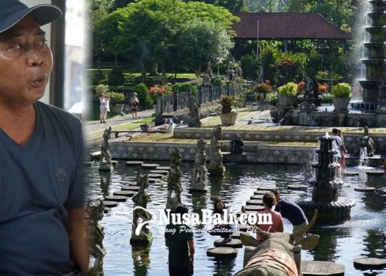 Nusabali.com - pengelola-objek-wisata-tirtagangga-bantah-pamedek-harus-bayar