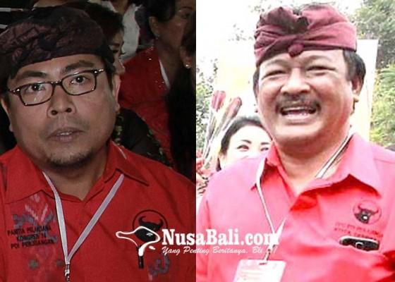 Nusabali.com - ngurah-gede-dan-arya-wibawa-bersitegang