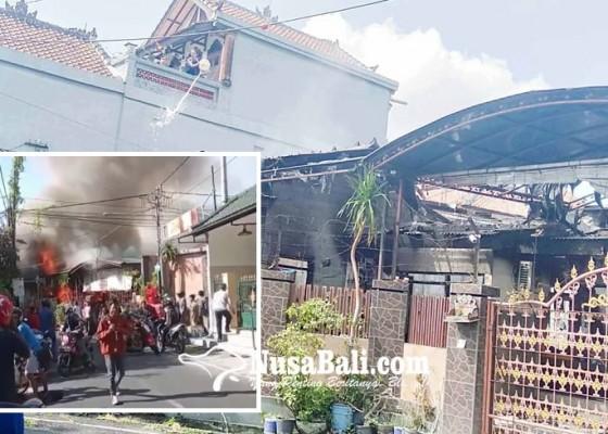 Nusabali.com - lupa-matikan-kompor-rumah-ludes-terbakar