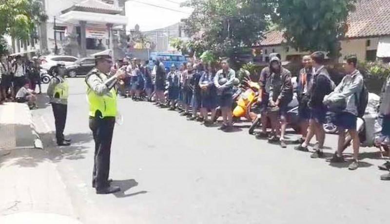www.nusabali.com-polisi-minta-ortu-sempatkan-antar-anak-ke-sekolah
