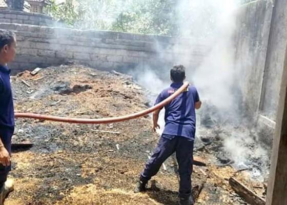 Nusabali.com - tumpukan-kayu-ludes-terbakar