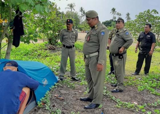 Nusabali.com - liburan-ke-bali-tidur-dalam-tenda