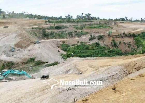 Nusabali.com - proyek-bendungan-tamblang-bws-bayarkan-rp-203-miliar