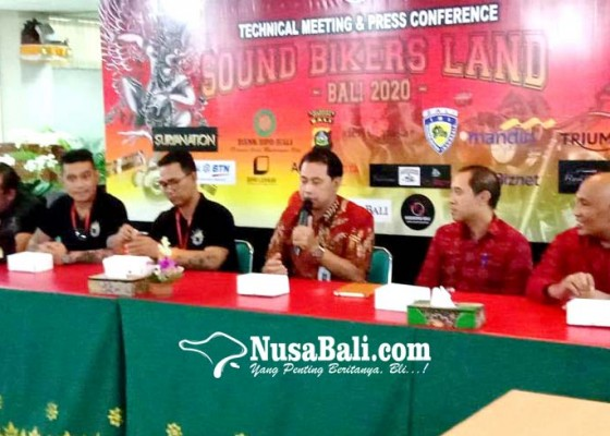 Nusabali.com - gatsu-bali-chapter-gelar-sound-bikers-land