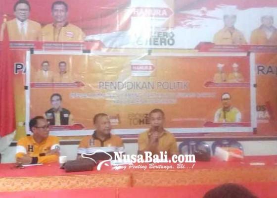 Nusabali.com - hanura-panaskan-mesin-partai-di-klungkung