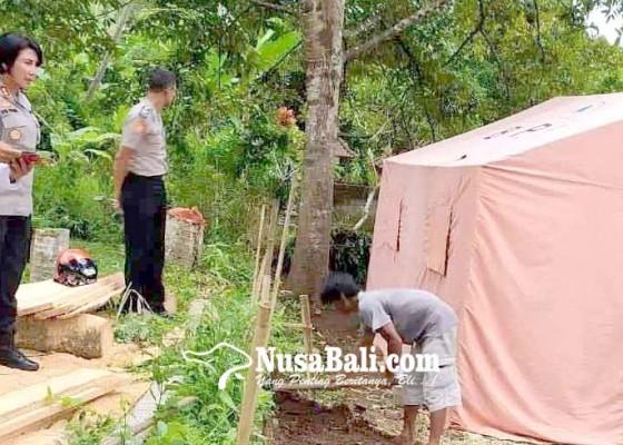 Nusabali.com - kapolres-galang-bantuan-wujudkan-bedah-rumah