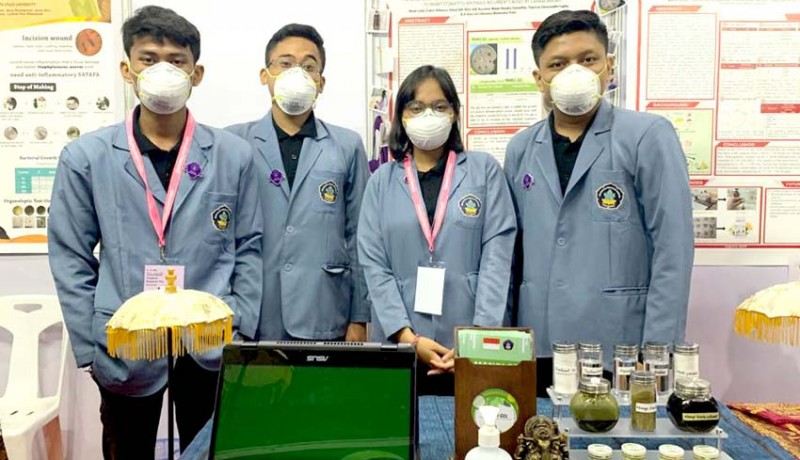 www.nusabali.com-hasil-riset-mahasiswa-undiksha-daun-mangga-jadi-obat-sariawan-dan-skincare-dari-vco