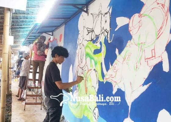 Nusabali.com - lomba-mural-edukasi-lingkungan-lewat-gambar
