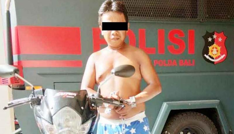 www.nusabali.com-kenalan-2-hari-motor-langsung-dicuri
