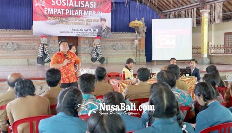 www.nusabali.com-sosialisasi-4-pilar-parta-sasar-generasi-milenial